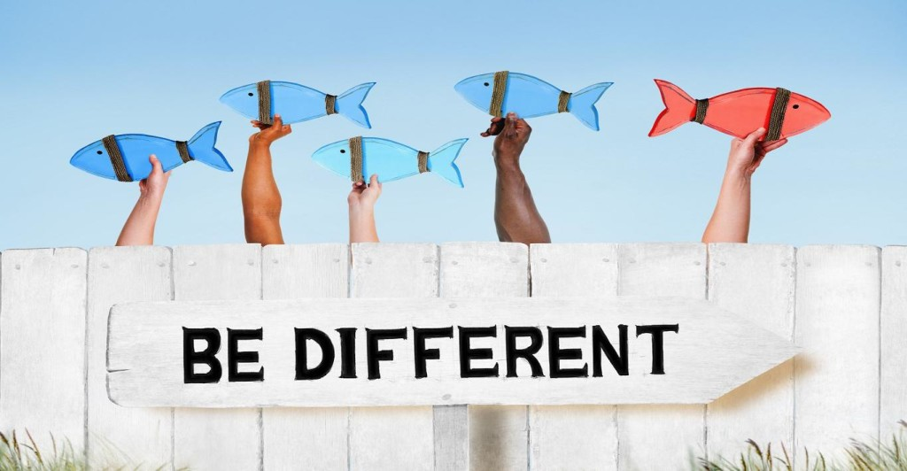 be different thumb